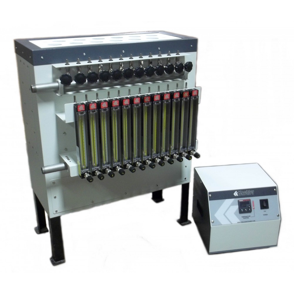 Oxidation Stability Apparatus, Solid Block, 12-Place