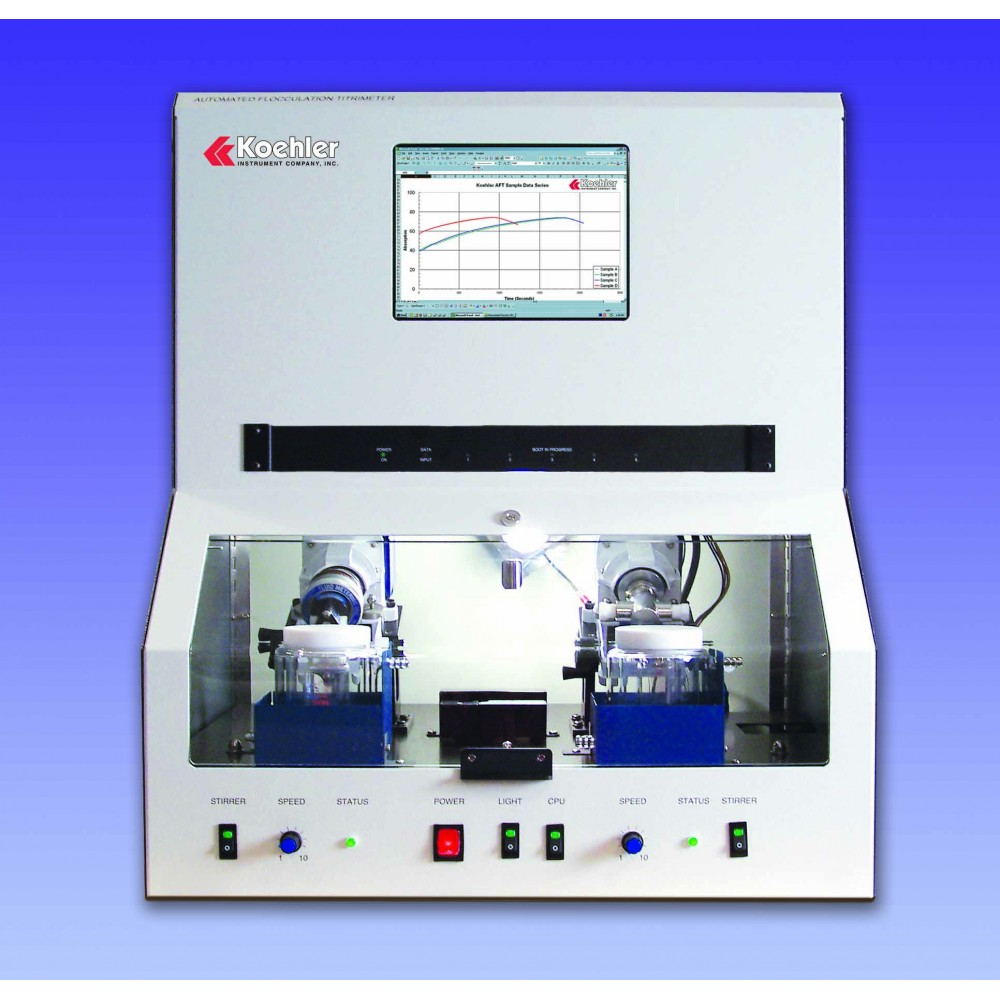 Automated Flocculation Titrimeter