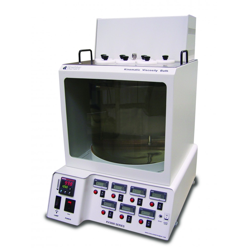 KV3000 Kinematic Viscosity Bath with Integrated Digital Timing