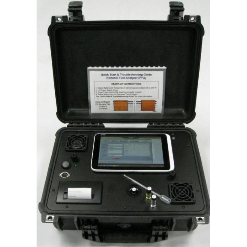Portable Fuel Property Analyzer